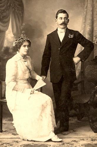 Domingo Toffolo y Matilde Beckley
