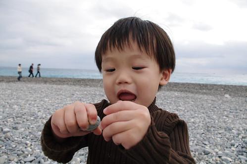 一豆玩石頭