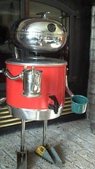 It's a boy! (Friar Junk) Tags: robot coffeepot junkart