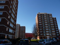 Southbow, Whitemead & Winterstoke Houses, Bristol (lydia_shiningbrightly) Tags: uk england architecture bristol balcony flats highrise housing towerblock socialhousing housingestates ashtongate bristolcitycouncil
