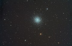 M13 NGC 6205 Great Globular Cluster in Hercules (Terry Hancock www.downunderobservatory.com) Tags: camera sky night digital stars photography pier backyard cluster shed images astro observatory telescope galaxy astrophotography terry astronomy imaging canon5d galaxies hancock dslr messier ccd universe amateur cosmos hercules celestron xsi tmb osc astronomer teleskop m13 astronomie byo globular ngc6205 450d astrofotografie astrophotographer cgepro tmb130ss tmb80ss