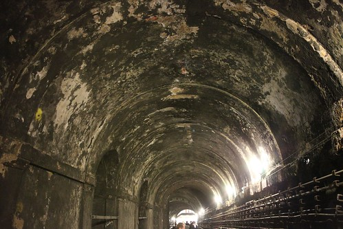 Rotherhithe Thames Tunnel - Original Tunnel Section by webponce