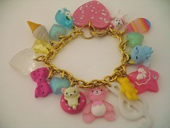 068 (Manitoba Coupon Maven - Michelle Roy) Tags: cute sparkles glitter fun toy box kitsch harajuku kawaii bracelet tacky sparkly cha charms raver