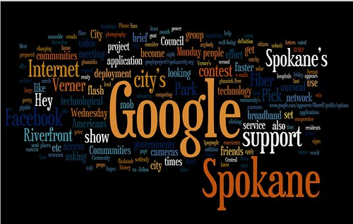 Hey Google, Pick Spokane!