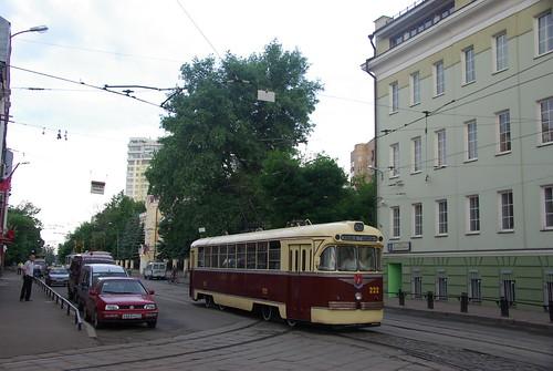Moscow tram RVZ-6 (original) 222 _20090613_052 ©  trolleway