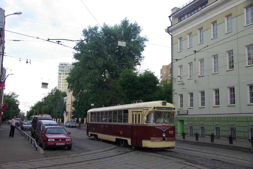 фото: Moscow tram RVZ-6 (original) 222 _20090613_052
