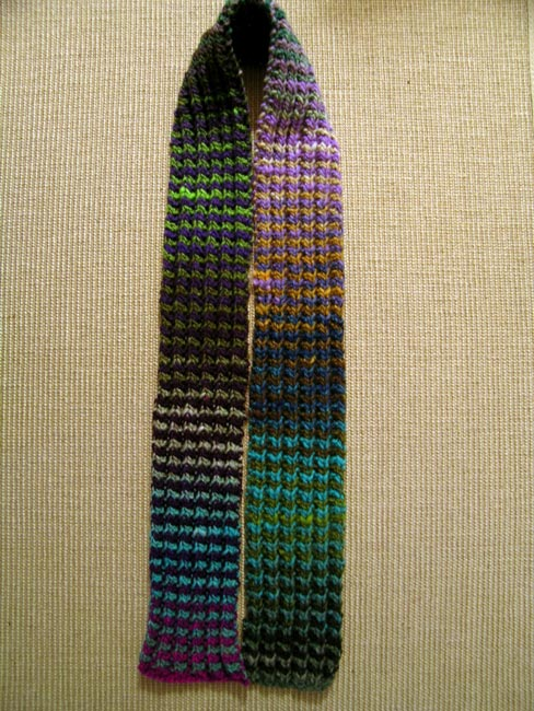 Child's Rainbow Scarf