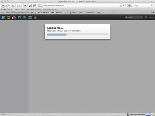 Apple Loading Screen Mobileme Loading Screen