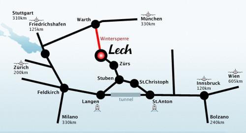 Mapa de ferrocarril