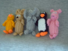 Mini Creatures (Impression-Knits) Tags: food fish dogs knitting hats icecream knitted novelties9