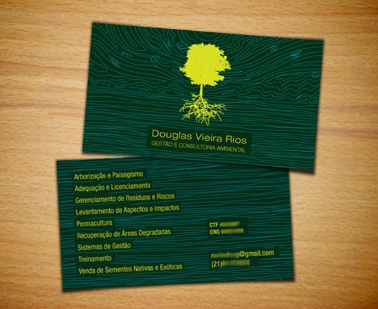 cartão pessoal douglas rios
