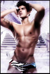 Edilson Nascimento - Angel (Kervin R.) Tags: model purple angeles top special raul temptation regalo blend rojas kervin nascimiento edilson