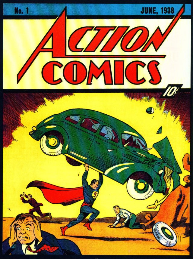 Action comics 1938 number 1
