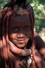 Himba Teenager (Peter Schnurman) Tags: africa girl namibia himba opuwo