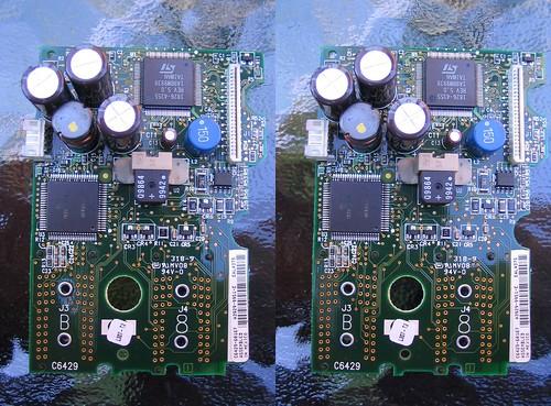 crosseye stereo electronics