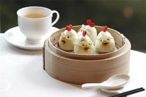 Lotus Seed Bun (HK Disneyland)