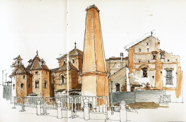 Málaga, convento del Carmen