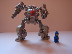 SpaceMecha (MorderczyGroszek) Tags: classic cool lego fig space hard mini suit micro mecha mech hardsuit