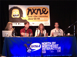Storytelling panel discussion at NXNEi