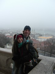 Chris and me in Eastern Europe by Danalynn C
