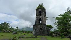 Cagsawa Ruins (Cagsawa) Tags: cagsawa cagsawaruins daraga bicol albay philippines pilipinas travel church volcano eruption mayon mayonvolcano lx5 mountmayon