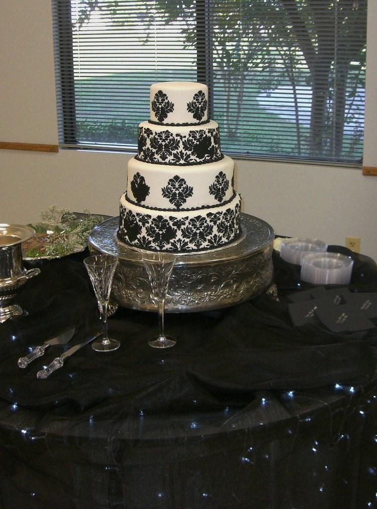 Damask Wedding