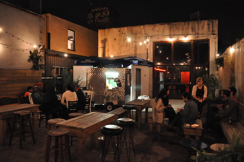 The Woods Bar and Taco Truck Williamsburg Brooklyn