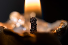 Flame (Ali Majdfar) Tags: light closeup candle wick fuse