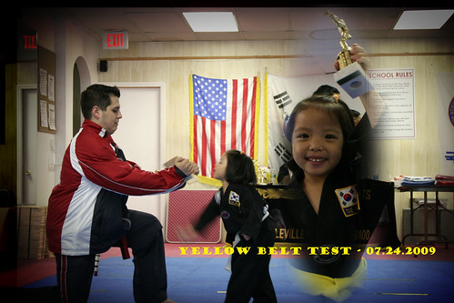 TKD - Yellow Belt Commendation