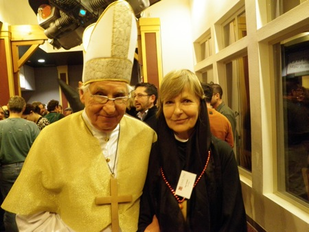 Pope Paul (Schell) and Sister Pam (Schell)