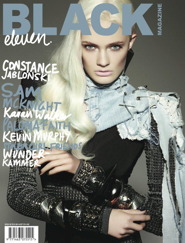 Black Magazine cover
