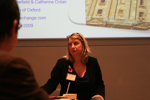 Anne (Café Direct) taking questions on Navigating the Mainstream