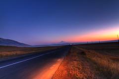 Roadway to Masis /    (Seroujo) Tags: mount armenia hdr armenian masis ararat armenien armenie