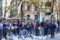 New York Yankees Fans (Gary Burke.) Tags: new york nyc newyorkcity ny canon eos rebel downtown manhattan broadway parade fans toiletpaper dslr bowlinggreen newyorkyankees worldseries canyonofheroes tickertapeparade garyburke yankeesfans klingon65 t1i canoneosrebelt1i yankeesparade
