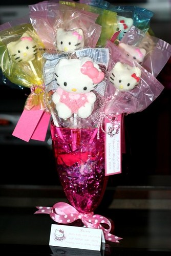 Amy Winehouse Hello Kitty Baby Shower Favors
