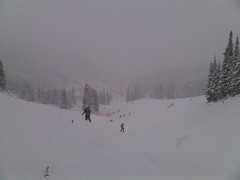 Opening Day at Sunshine Village (Taylor and Kevin) Tags: speed action fast sunshinevillage