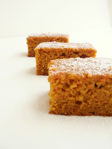 Pumpkin and carrot cake