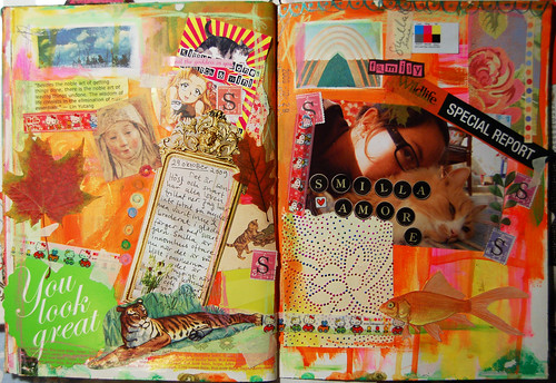 Art Journal: Smilla amore (Copyright Hanna Andersson)