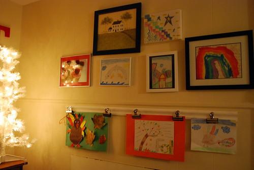 Kid Corner - Art Wall