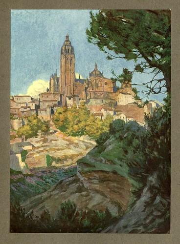 001- Catedral de Segovia-An artista in Spain 1914- Michael Arthur C.