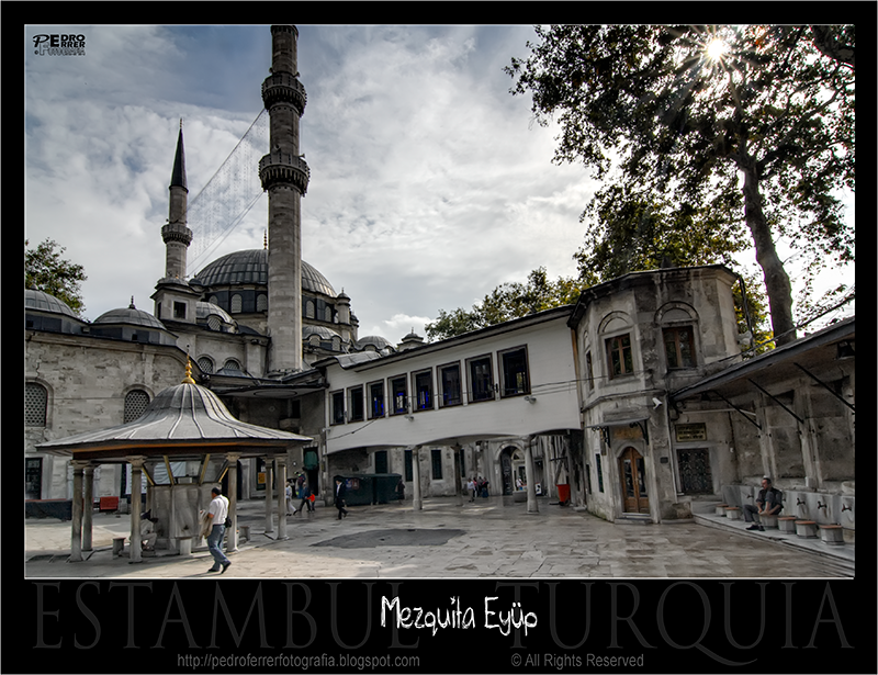 Mezquita de Eyüp - Fuente de abluciones