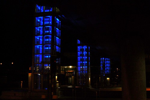 Blue night I
