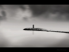 Sliding Into the Adriatic (Brent Mooers Photography) Tags: venice italy lighthouse nikon vr d60 nikond60 nikon18105mm