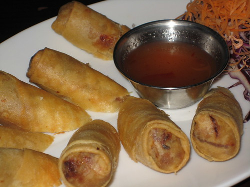Spring Rolls at Pad Thai