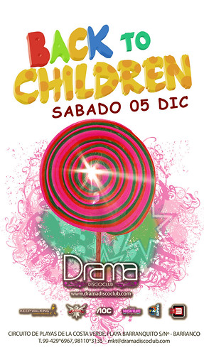 Back To Children - Drama Disco Club