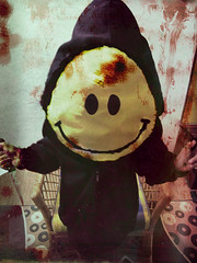 Thanks God Its Friday (potophlayər™) Tags: its thanks hoodie blood god knife stained smiley murder friday tgif