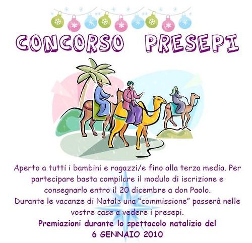 concorso presepi 2009