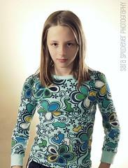 Madeline (Sara Zambo) Tags: portrait girl kid pretty child blueeyes posed blonde tween preteen studiolighting strobes lumixg1