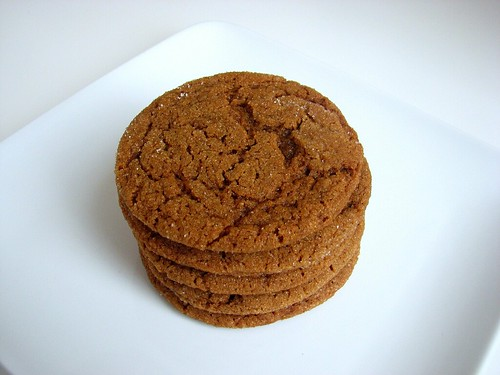 Soft & Chewy Molasses Spice Cookies