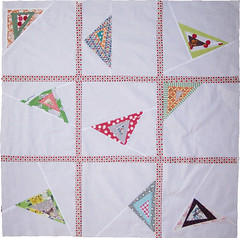 triangle quilt top (sewtakeahike) Tags: quilt quilting quilts patchwork quiltblocks